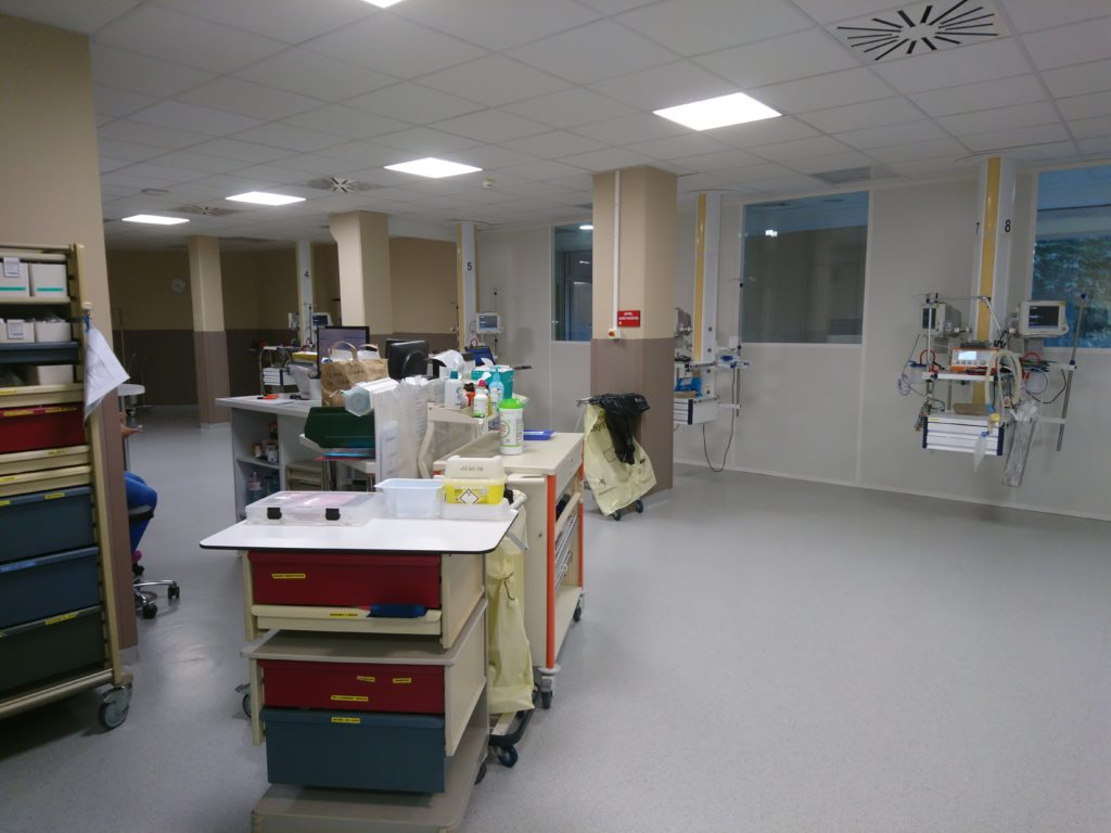 salle de reveil clinique des cedres