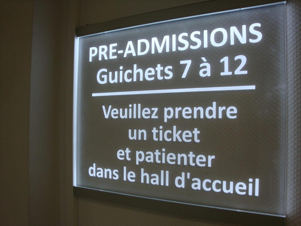pré admission
